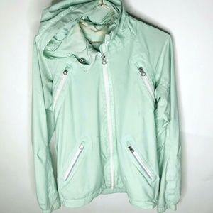 Lululemon Green Women Athletic Windbreaker Jacke 4